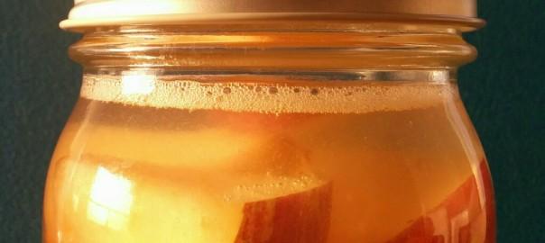 リンゴで作る自家製天然酵母(88時間経過)